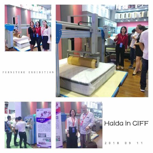 Furniture exhibition/Mattress Compression Machine