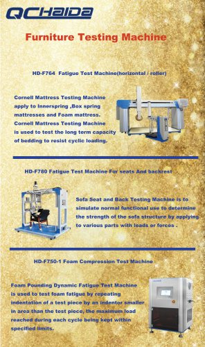 Furniture Testing Machine