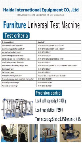 HD-739 Furniture Universal Test Machine