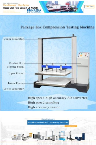 HD-A502 Package Box Comprcssion Testing Machine