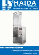 HD-E710-3 Water Spray Test Chamber _IPX5, IPX6_ - 1