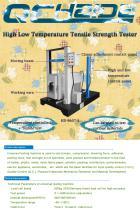 High Low Temperature tensile strength tester - 1