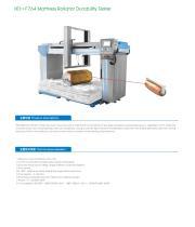 Mattress Rollator Durability Tester - 1