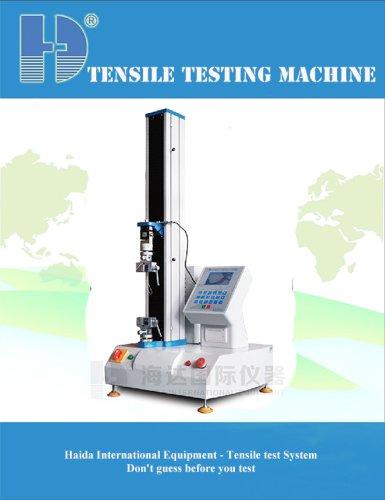 pull tensile testing machine