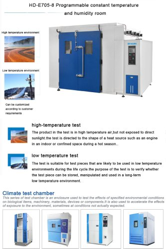 Temperature And Humidity Room