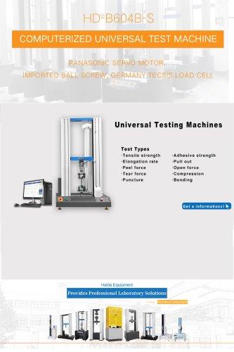UTIVERSAL TESTING MACHINES