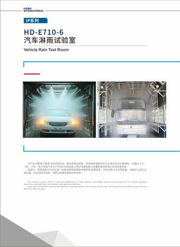 Vehicle Rain Test Rom