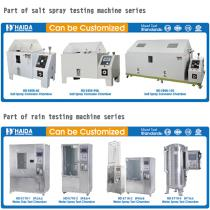 We can provide different specifications of salt spray test machine and rain test machine, and meet the test standards - 1