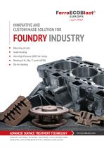 Solutions for Foundry industry