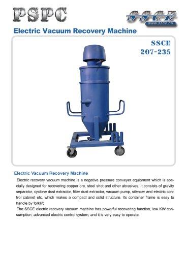 sandblasting machine Electric vacuum recovery machine