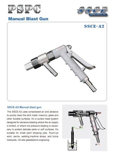 sandblasting machine Manual blast gun SSCE A2