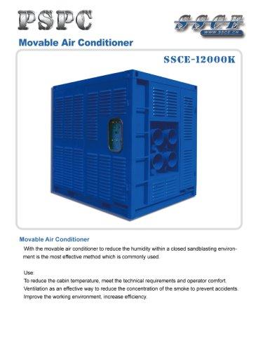 sandblasting machine Movable air conditioner SSCE 12000K