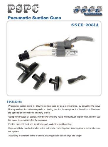sandblasting machine pneumatic suction guns SSCE 2081A