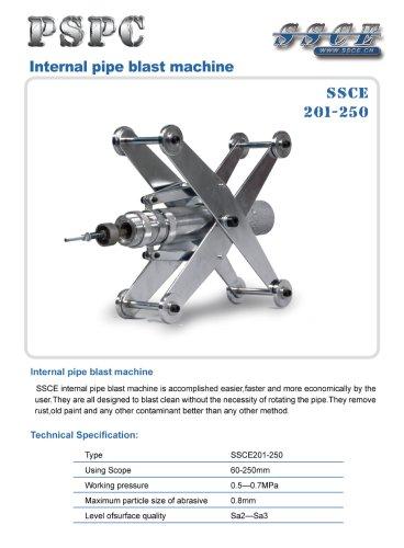 sandblasting machine SSCE 201/250