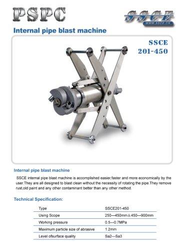 sandblasting machine SSCE 201/450