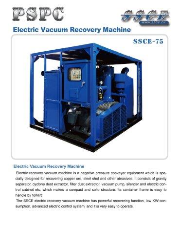 sandblasting machine SSCE 75