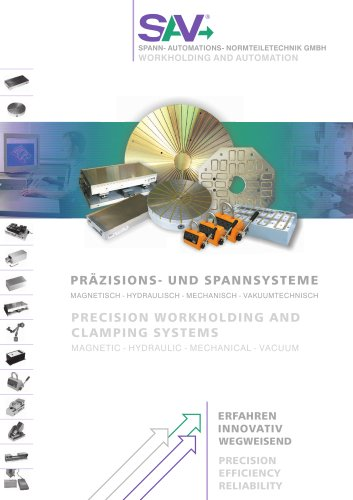 SAV Precision Workholding and Clamping Systems Catalogue