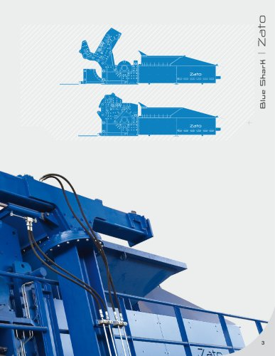 The BLUE SHARK Hammer Mill Shredder