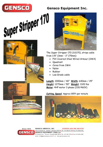 Super Stripper 170