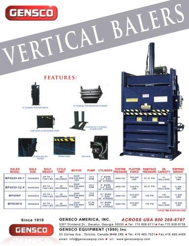vertical balers
