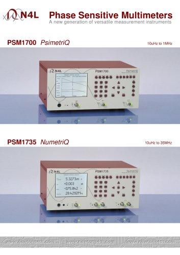 Phase Sensitive Multimeters A new generation of versatile measurement instruments