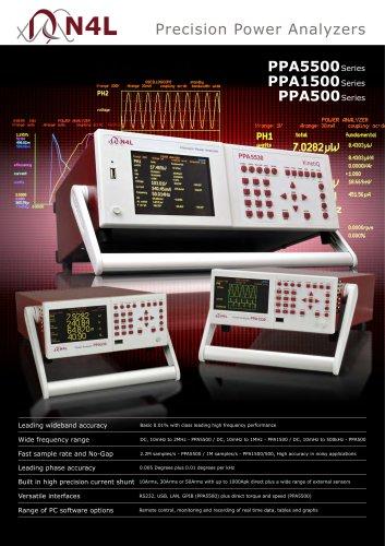 PPA1500 ? Compact Power Analyzer