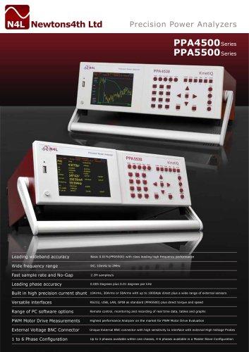PPA4500 ? Precision Power Analyzer