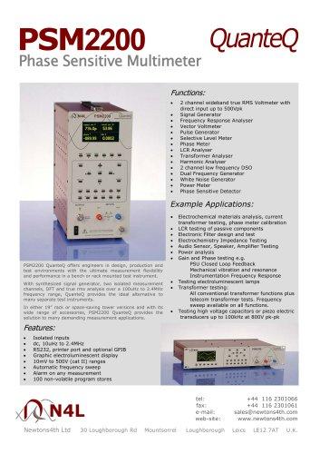 PSM2200 QuanteQ Phase Sensitive Multimeter