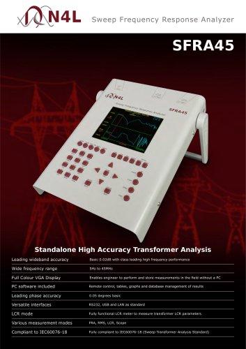 SFRA45 - Sweep Frequency Response Analyzer
