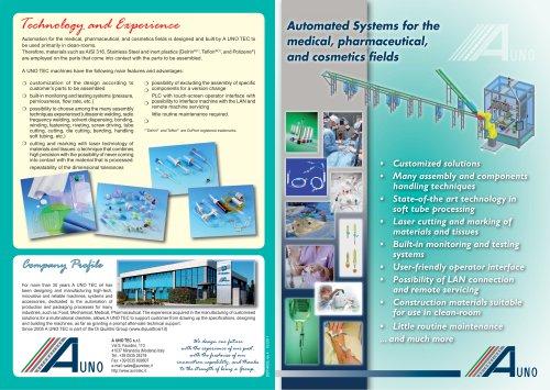 Automatic and semi-automatic assembly machine