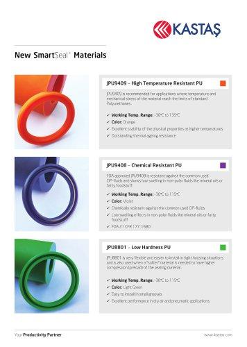 New SmartSeal Materials