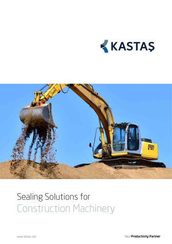 Sealing Solutions for Constrcution Machinery