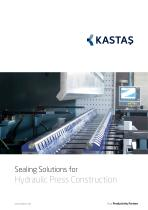 Sealing Solutions for Hydraulic Press Construction