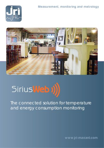 The connected solution for temperature and energy consumption monitoring