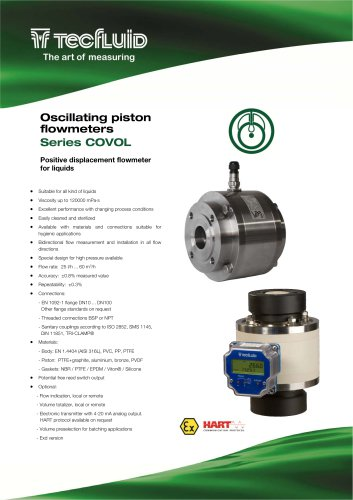 Series_COVOL_Oscillating_piston_Positive_Displacement_flowmeter
