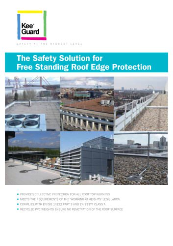 Free Standing Roof Edge Protection