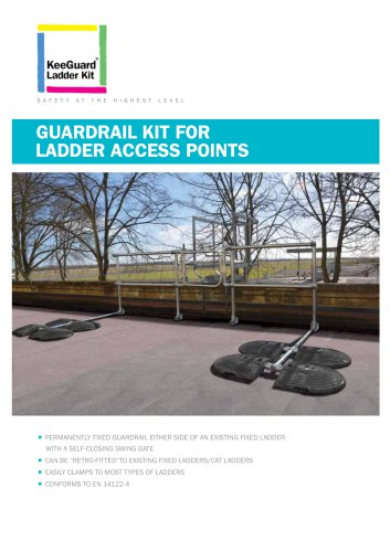 Guardrail kit for Ladder Access Points