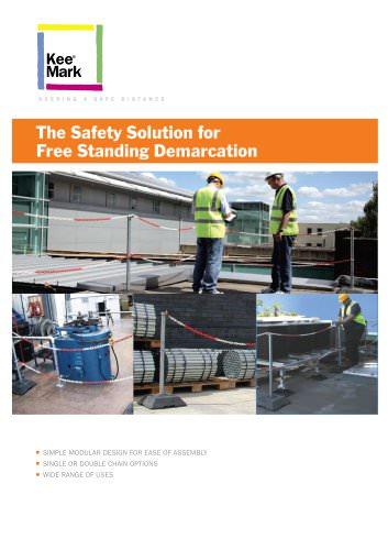 KEE MARK : Free Standing Demarcation