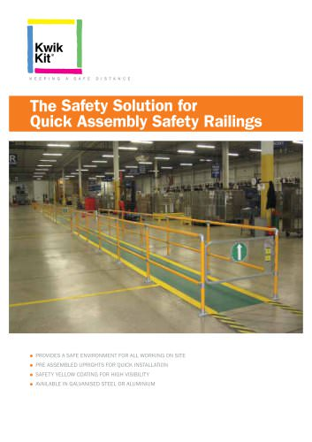 Quick Assembly Safety Railings