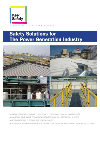 Safety Solutions for The Power Generation Industry