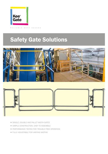 Self Closing Safety Gate