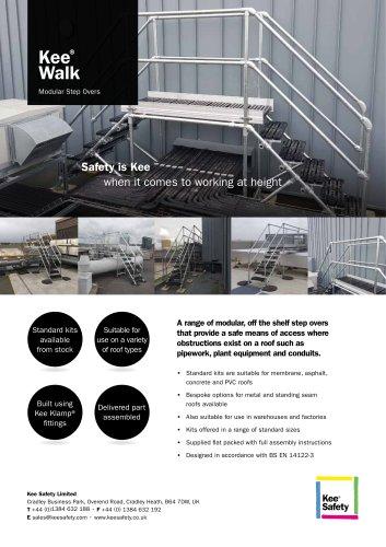Standard Step Over Platforms