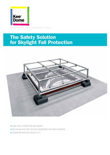 The Safety Solution for Skylight Fall Protection