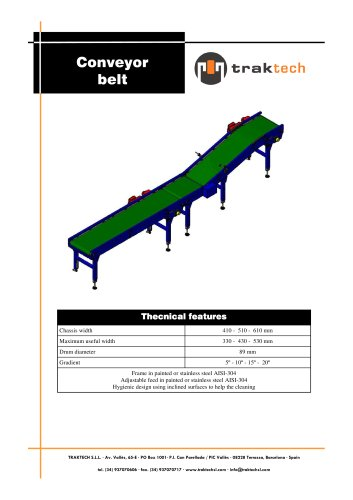 Belt conveyors for boxes