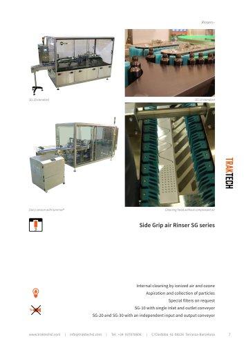 Side Grip air Rinser SG series
