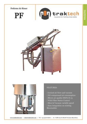 Traktech Preforms air rinser PF-20