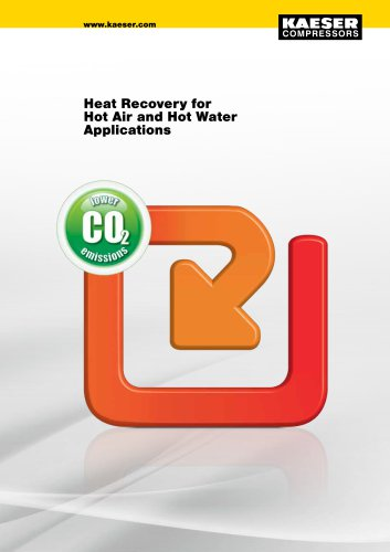 Heat Recovery for Hot Air and Hot Water Applications