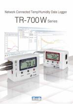 LAN/WLAN Dedicated Datalogger TR-700W Series