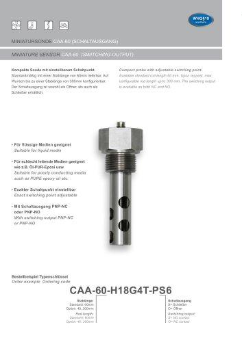 CAA-60-H18
