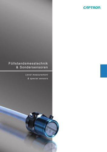 Fluid Sensors - Catalogue